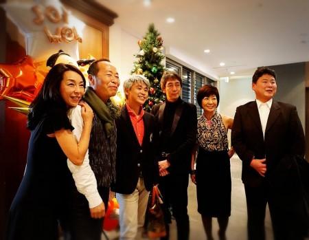 ZONOと阪本と三人での写真撮り忘れた(汗)これ、あってよかった。私の左横がZONOだよ。